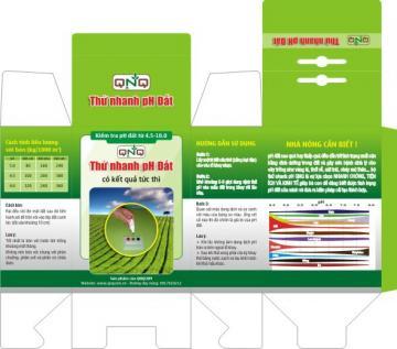 Kiểm tra nhanh pH đất