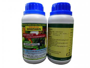 QNQTAMIN - Đạm hữu cơ cho nông nghiệp sạch