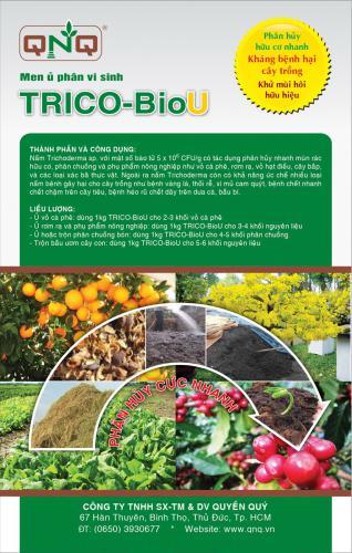 TRICHO-BioU - Chuyên gia ủ phân hữu cơ